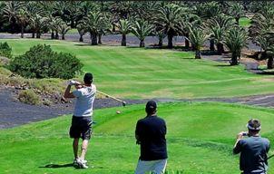 Golfen op Lanzarote